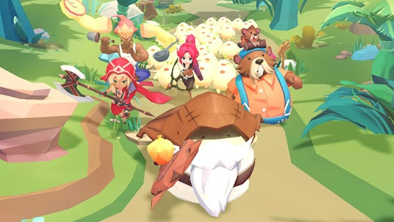 Screenshot 1: Mandora Farm and Fight