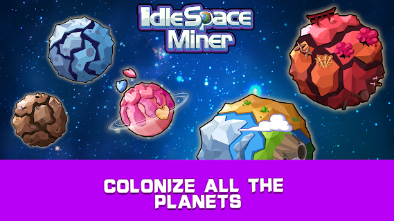 Screenshot 4: Idle Space Miner - Idle Cash Mine Simulator