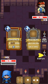 Screenshot 3: Gambit Dungeon:Pixel Card Game
