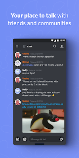 Screenshot 1: Discord - Talk, Video Chat & Hang Out with Friends