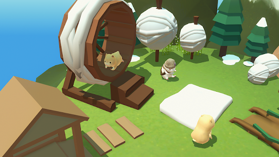 Screenshot 4: Hamster Village