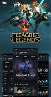 Screenshot 1: League+