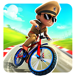 Icon: Little Singham Cycle Race
