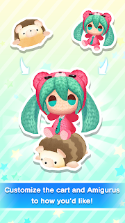 Screenshot 4: Hatsune Miku Amiguru Train