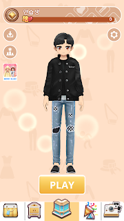 Screenshot 2: Boy-Styledoll Fashion Show - 3D Avatar maker