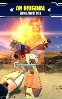 Screenshot 3: GUNDAM BREAKER:高達創壞者 MOBILE | 英文版