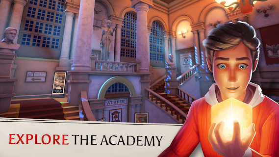 Screenshot 1: The Academy: The First Riddle