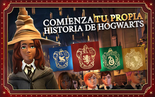 Screenshot 1: Harry Potter: Hogwarts Mystery