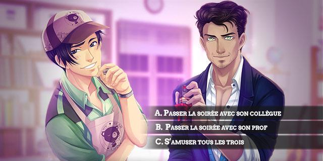 Screenshot 3: Amour Sucré - Otome games / Romance