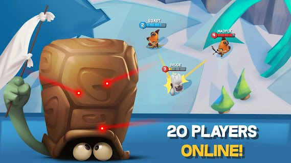 Screenshot 2: Zooba: Free-for-all Zoo Combat Battle Royale Games