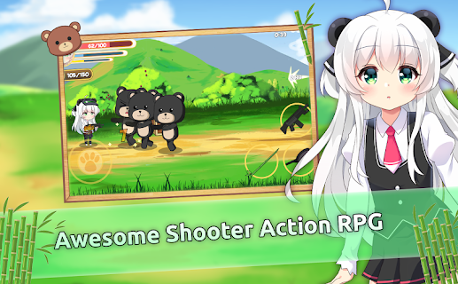 Screenshot 4: Pandaclip: The Black Thief - Action RPG Shooter