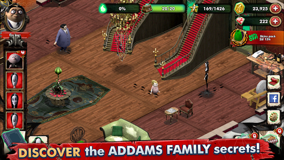 Screenshot 3: The Addams Family - Mystery Mansion
