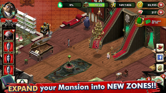 Screenshot 4: The Addams Family - Mystery Mansion