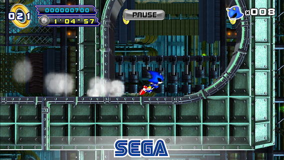 Screenshot 1: Sonic The Hedgehog 4 Episode II
