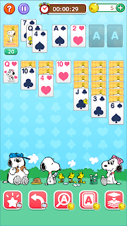 Screenshot 4: Snoopy Solitaire