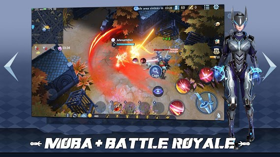Screenshot 2: Survival Heroes - MOBA Battle Royale