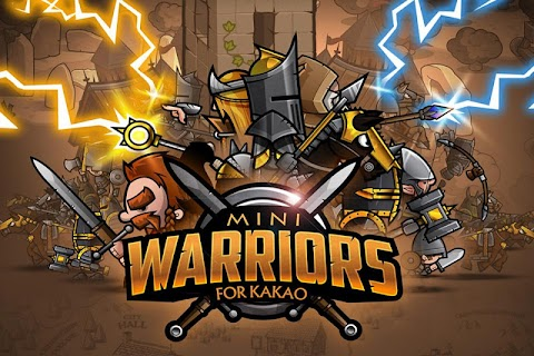 Screenshot 1: Mini Warriors for Kakao