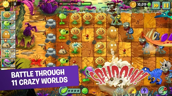 Screenshot 1: Plants vs Zombies 2: It's About Time