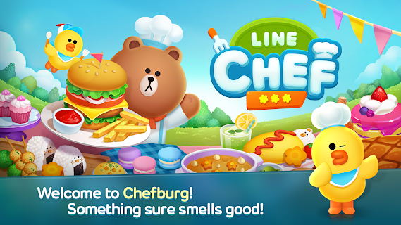 Screenshot 1: LINE CHEF