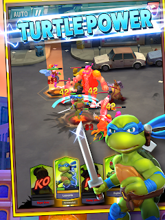 Screenshot 1: TMNT: Mutant Madness