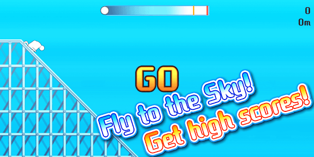 Screenshot 1: Fly to the Sky! Flying Man