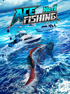 Screenshot 1: Ace Fishing: Paradise Blue