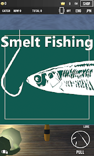 Screenshot 1: Super Smelt Fishing