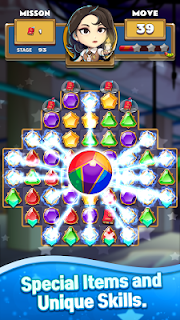Screenshot 4: The Coma: Jewel Match 3 Puzzle