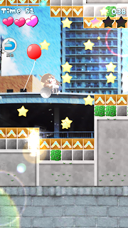 "Screenshot 4: MICHIRU RUN ""Kawaii"" but difficult 2DPlatform !"