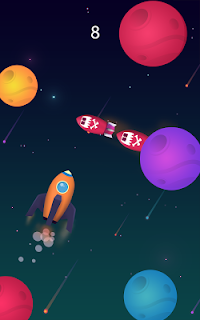 Screenshot 3: Planet Surfer