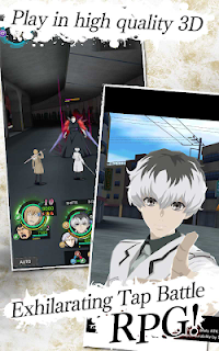 Screenshot 3: 東京喰種 :re invoke | 英語版