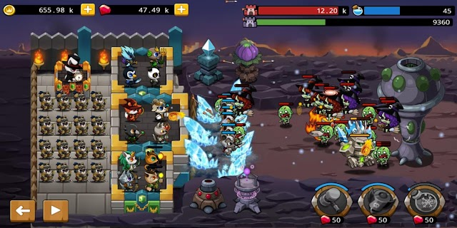 Screenshot 2: Castle Defense King