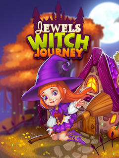 Screenshot 1: Jewels Witch Journey