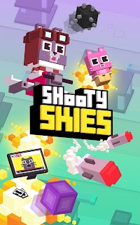 Screenshot 1: Shooty Skies