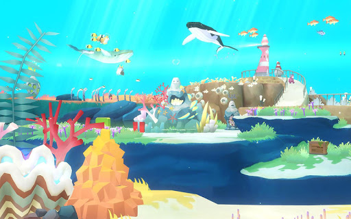 Screenshot 3: 深海水族館世界