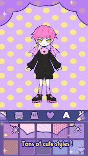 Screenshot 1: BatDoll Dress up doll boy - avatar character maker