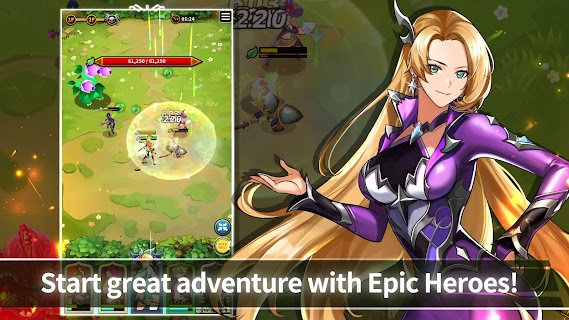 Screenshot 2: Epic Heroes Adventure : Action & Idle Dungeon RPG