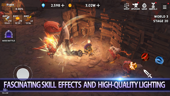Screenshot 3: Dungeon Knight: 3D Idle RPG
