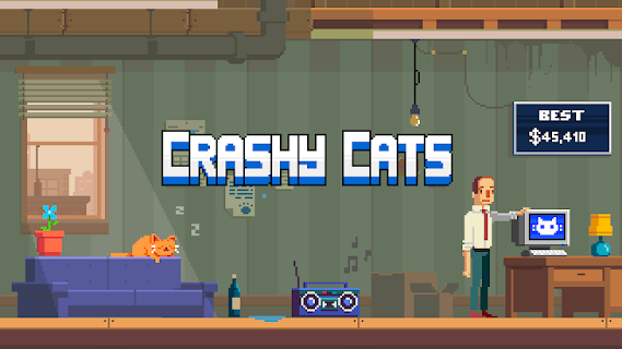 Screenshot 1: Crashy Cats