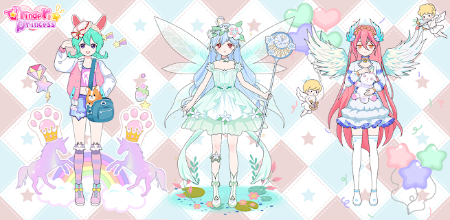 Screenshot 2: Vlinder Princess - Dress Up Party, Avatar Fairy