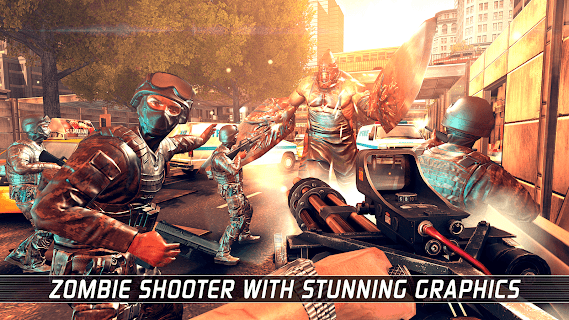 Screenshot 1: UNKILLED - Zombie FPS Shooting Game