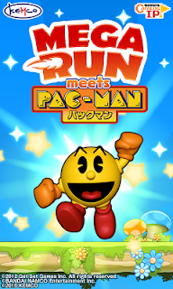 Screenshot 1: Mega Run meets Pac-Man