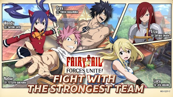 Screenshot 3: FAIRY TAIL: Forces Unite! | อังกฤษ