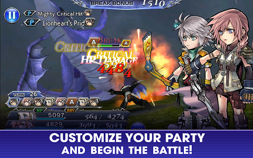 Screenshot 3: DISSIDIA FINAL FANTASY OPERA OMNIA | English