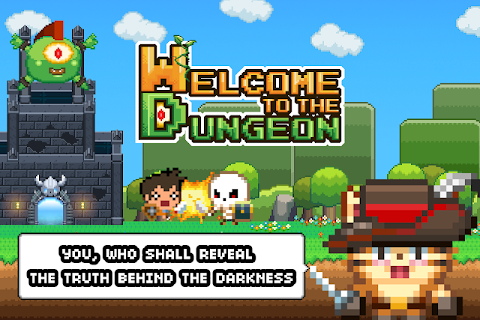 Screenshot 1: Welcome to the Dungeon