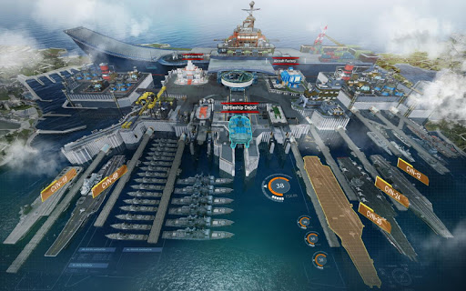 Screenshot 4: Battle Warship: Naval Empire