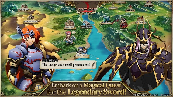 Screenshot 2: Langrisser Mobile | Inglés