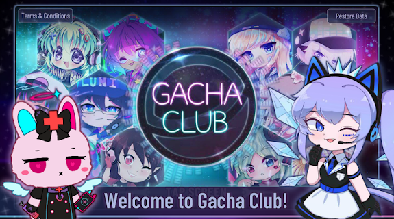 Screenshot 1: Gacha Club