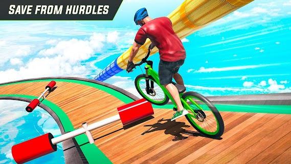 Screenshot 3: Cycle Stunt Game: Mega Ramp Bicycle Racing Stunts