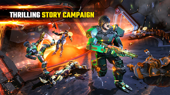 Screenshot 3: SHADOWGUN LEGENDS